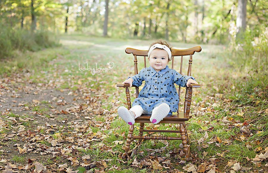 Macomb Michigan Familly Lifestyle photographer one year old baby girl