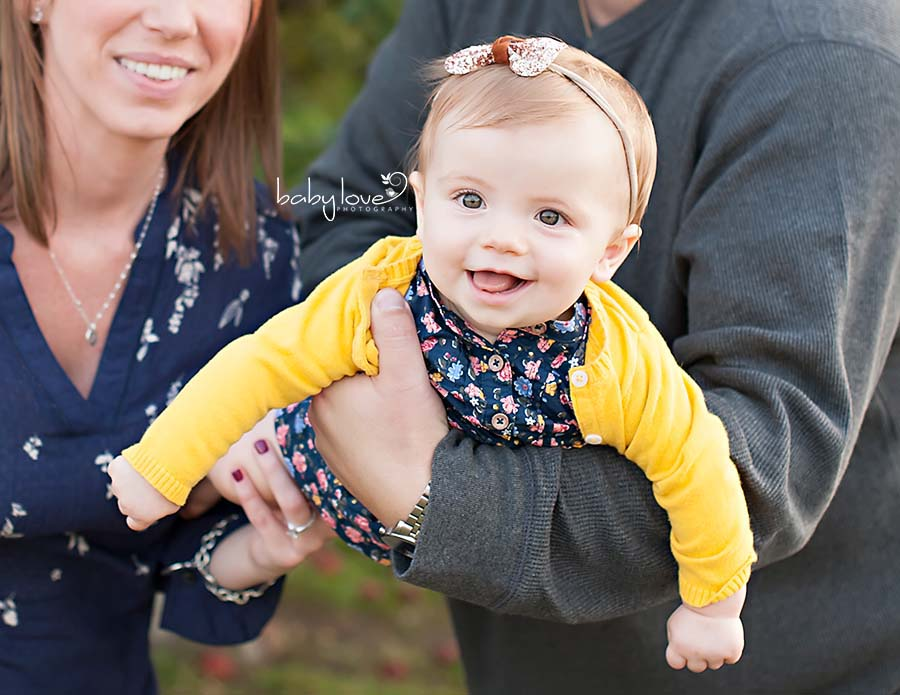 Washington Michigan family photographer 9 month baby girl