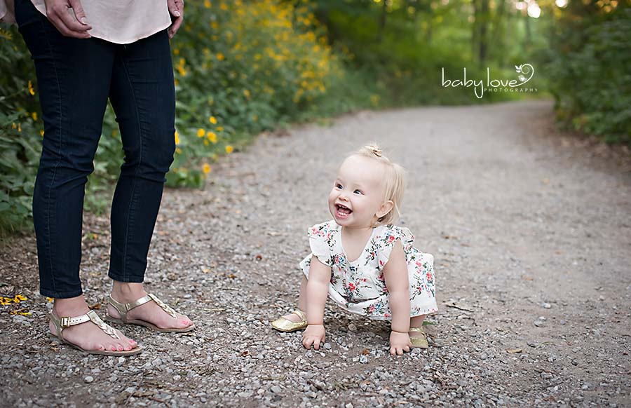 Metro Detroit Michigan One Year Old Photographer